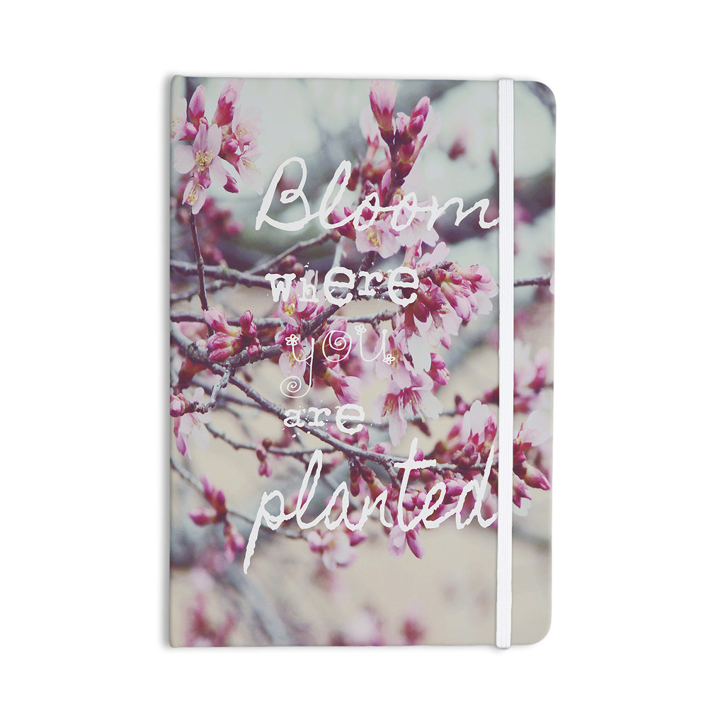"Suzanne Carter ""Bloom Pink"" Everything Notebook - KESS InHouse  - 1"