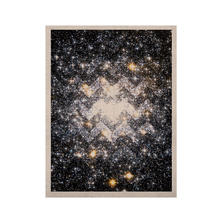 "Suzanne Carter ""Messier Chevron"" KESS Naturals Canvas (Frame not Included) - KESS InHouse  - 1"
