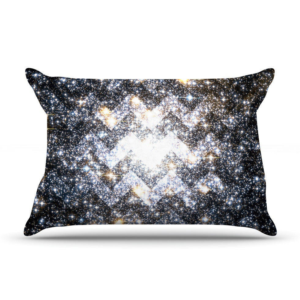 "Suzanne Carter ""Messier Chevron"" Pillow Sham - KESS InHouse"