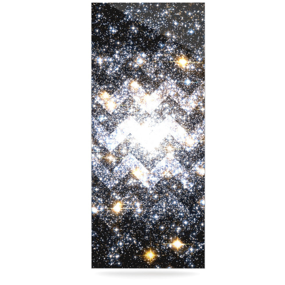"Suzanne Carter ""Messier Chevron"" Luxe Rectangle Panel - KESS InHouse  - 1"