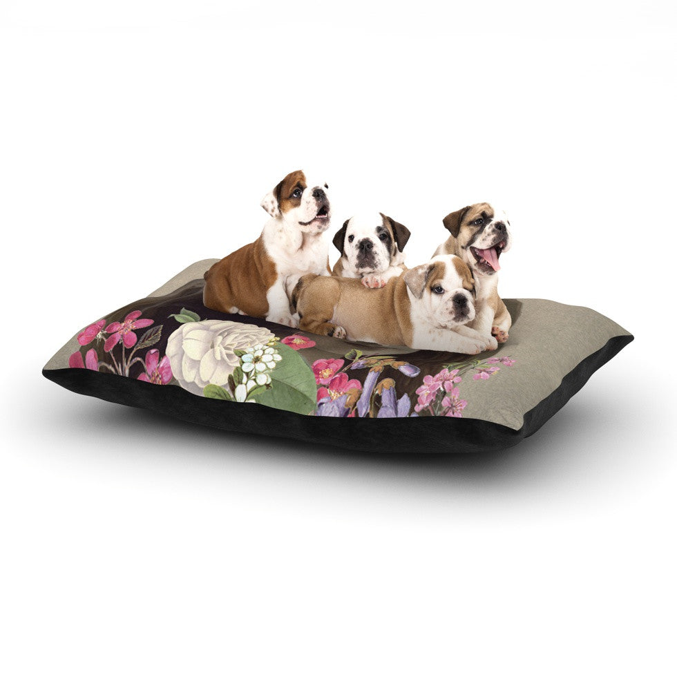 "Suzanne Carter ""Doves Eyes"" Dog Bed - KESS InHouse  - 1"