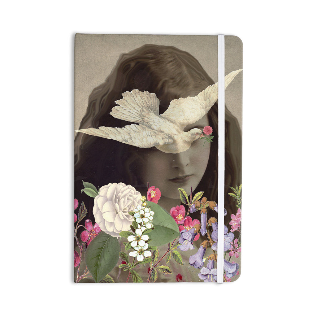 "Suzanne Carter ""Doves Eyes"" Everything Notebook - KESS InHouse  - 1"