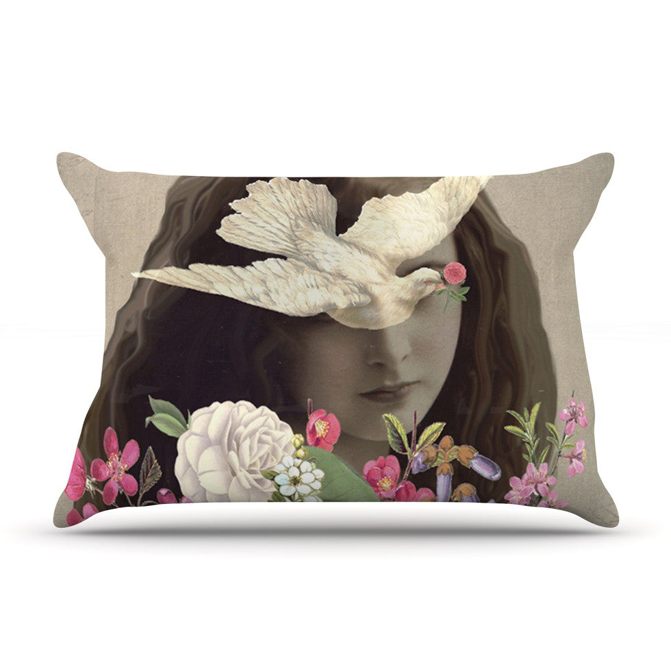 "Suzanne Carter ""Doves Eyes"" Pillow Sham - KESS InHouse"