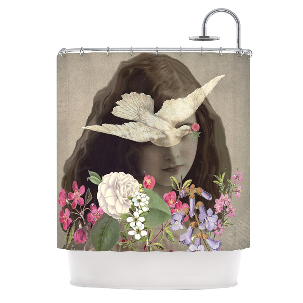 "Suzanne Carter ""Doves Eyes"" Shower Curtain - KESS InHouse"
