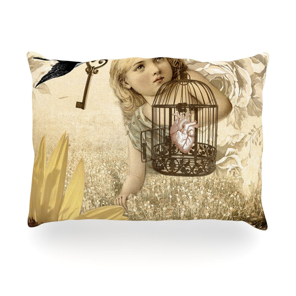 "Suzanne Carter ""Key"" Oblong Pillow - KESS InHouse"