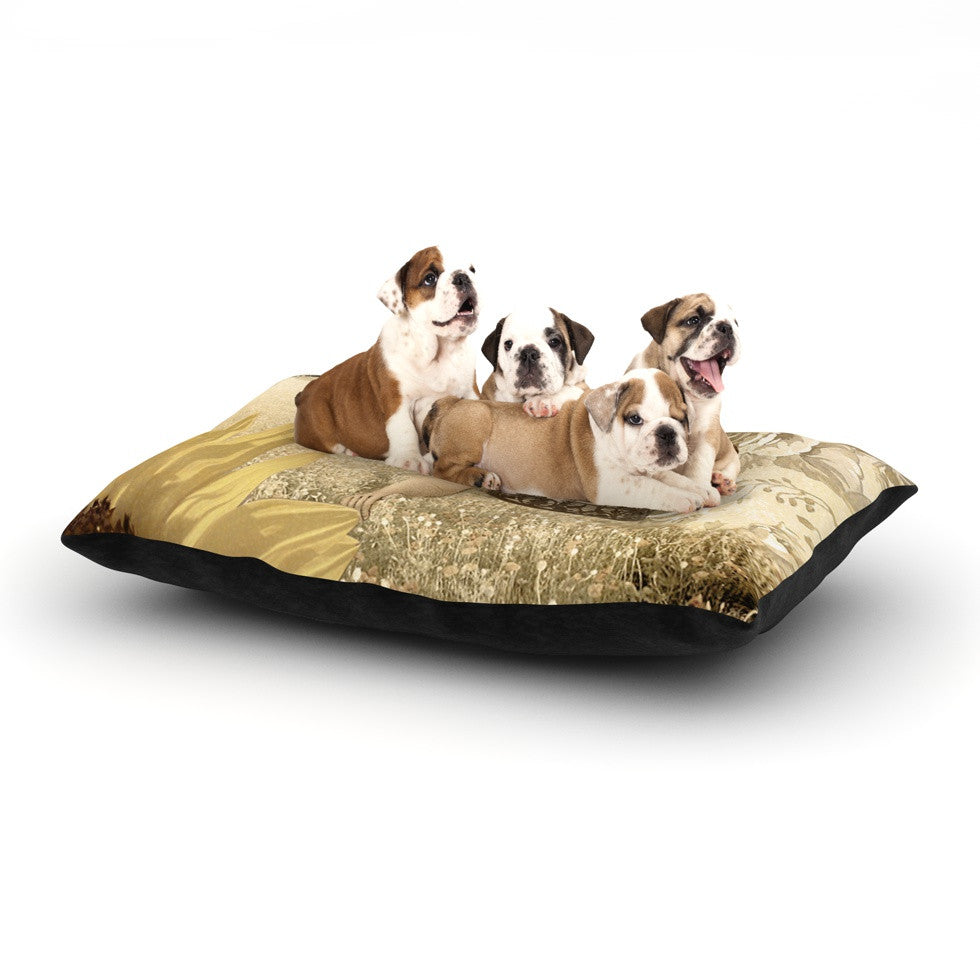 "Suzanne Carter ""Key"" Dog Bed - KESS InHouse  - 1"