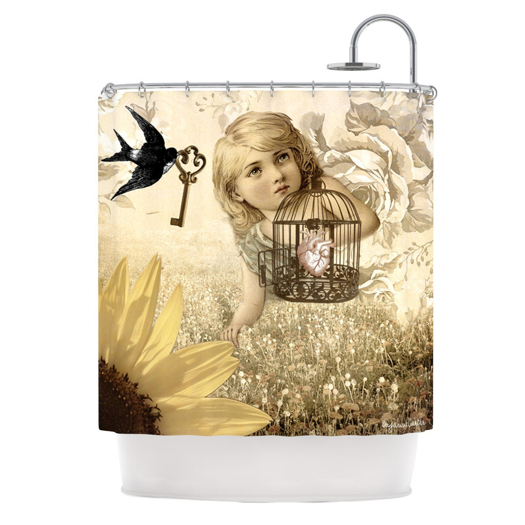 "Suzanne Carter ""Key"" Shower Curtain - KESS InHouse"