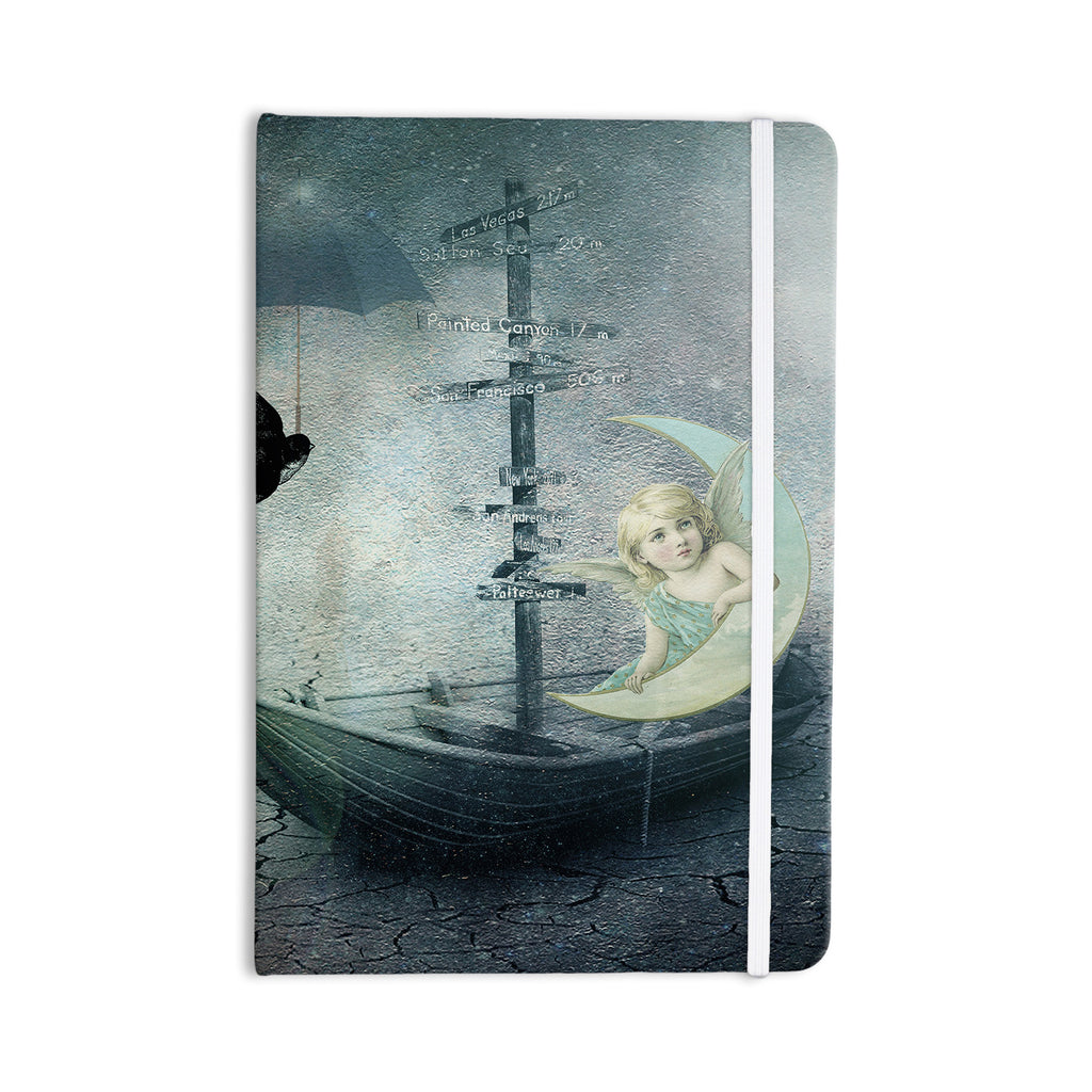 "Suzanne Carter ""Rain"" Everything Notebook - KESS InHouse  - 1"
