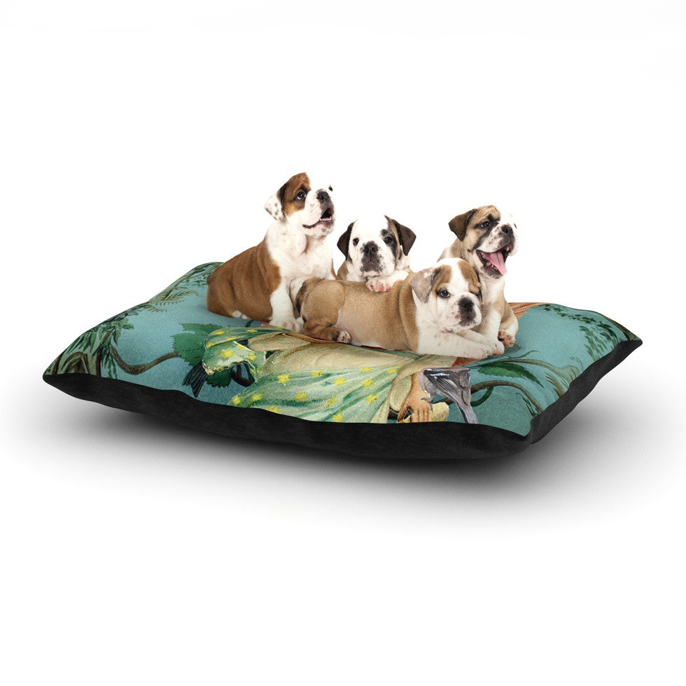 "Suzanne Carter ""The Delivery"" Dog Bed - KESS InHouse  - 1"