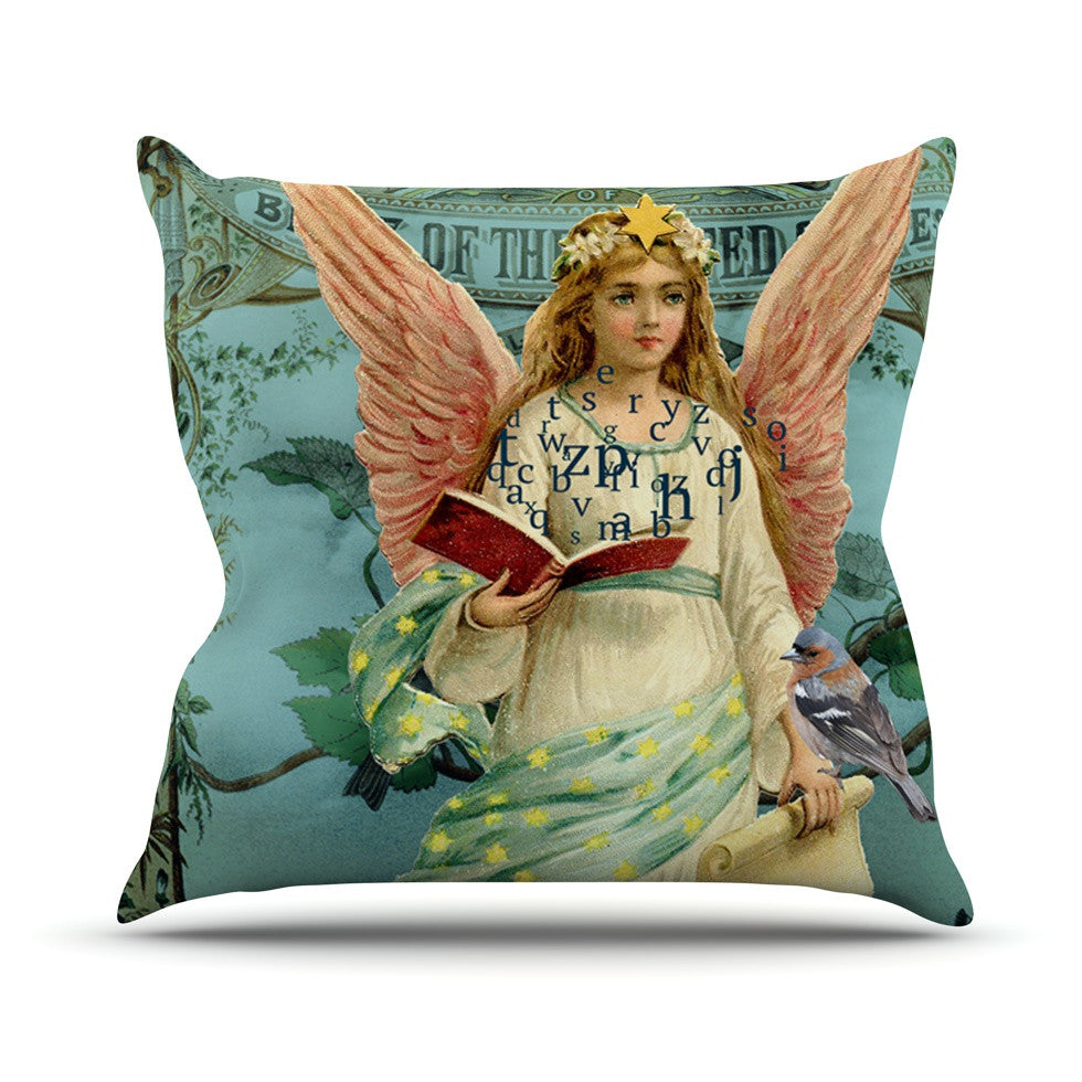 "Suzanne Carter ""The Delivery"" Throw Pillow - KESS InHouse  - 1"