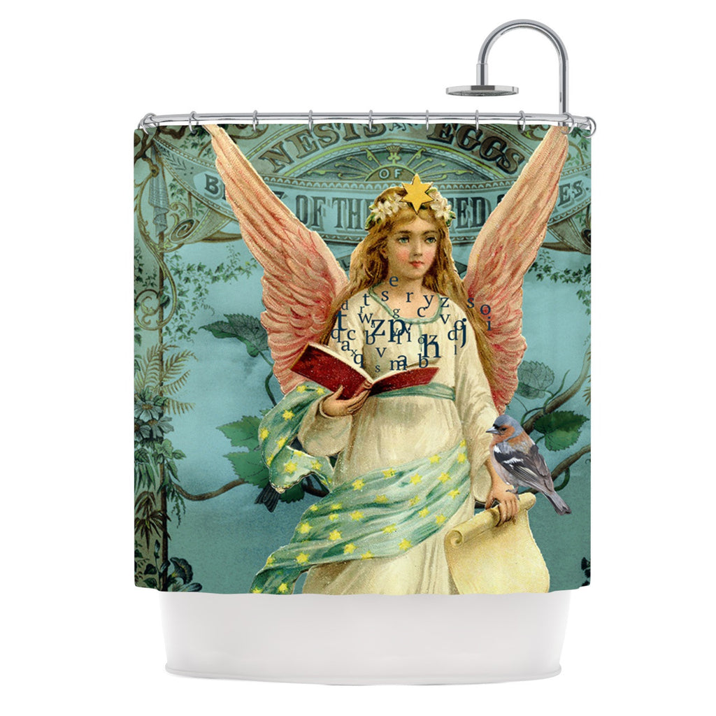 "Suzanne Carter ""The Delivery"" Shower Curtain - KESS InHouse"