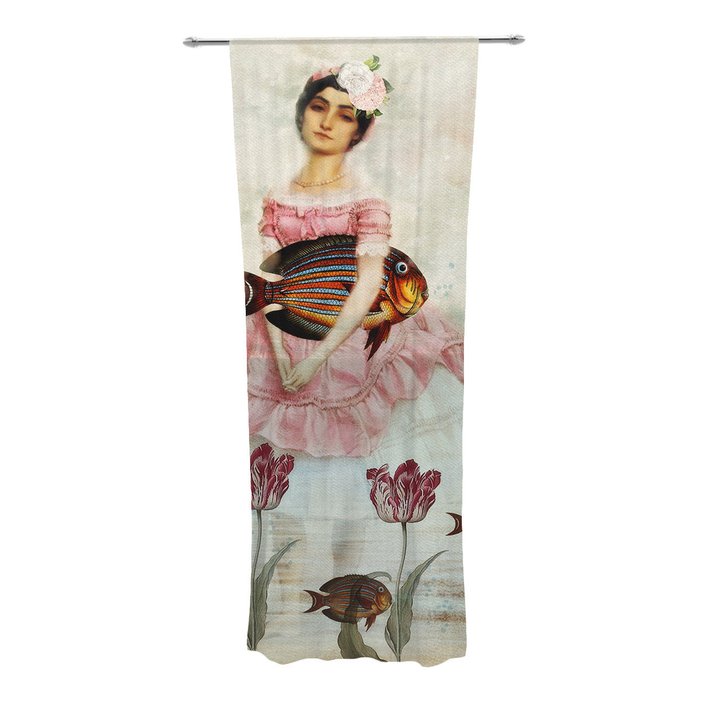 "Suzanne Carter ""The Gardener"" Decorative Sheer Curtains - KESS InHouse"
