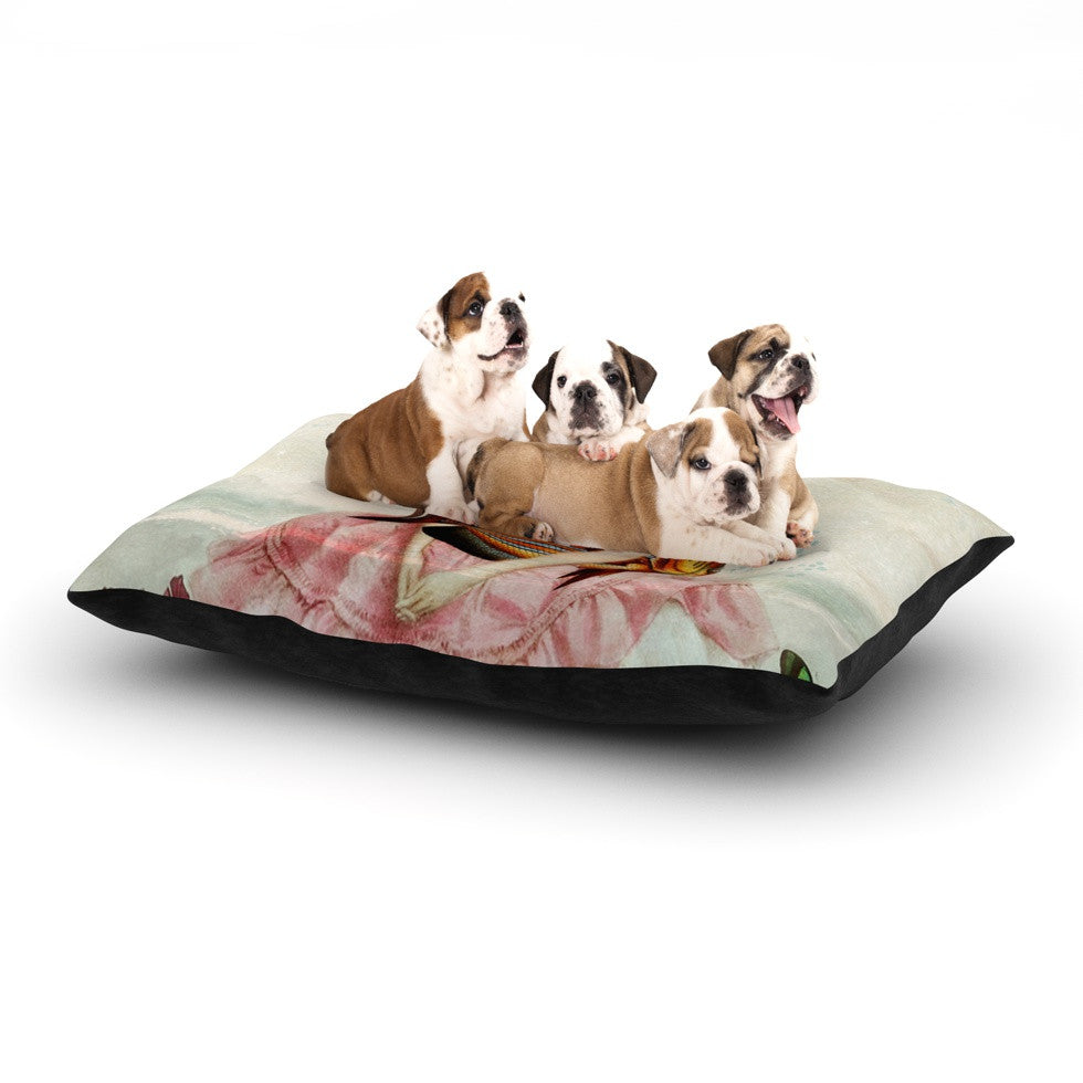 "Suzanne Carter ""The Gardener"" Dog Bed - KESS InHouse  - 1"