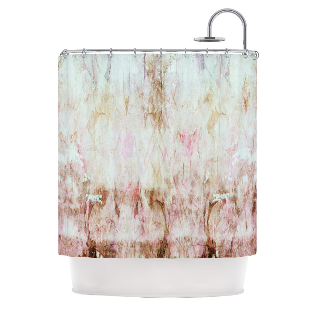 "Suzanne Carter ""Florian"" Pink Shower Curtain - KESS InHouse"