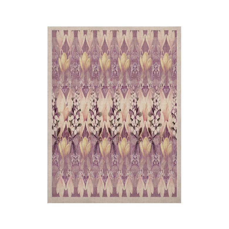 "Suzanne Carter ""Laurel85"" Pink Purple KESS Naturals Canvas (Frame not Included) - KESS InHouse  - 1"