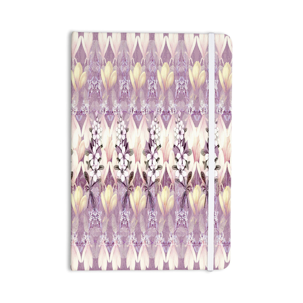 "Suzanne Carter ""Laurel85"" Pink Purple Everything Notebook - KESS InHouse  - 1"