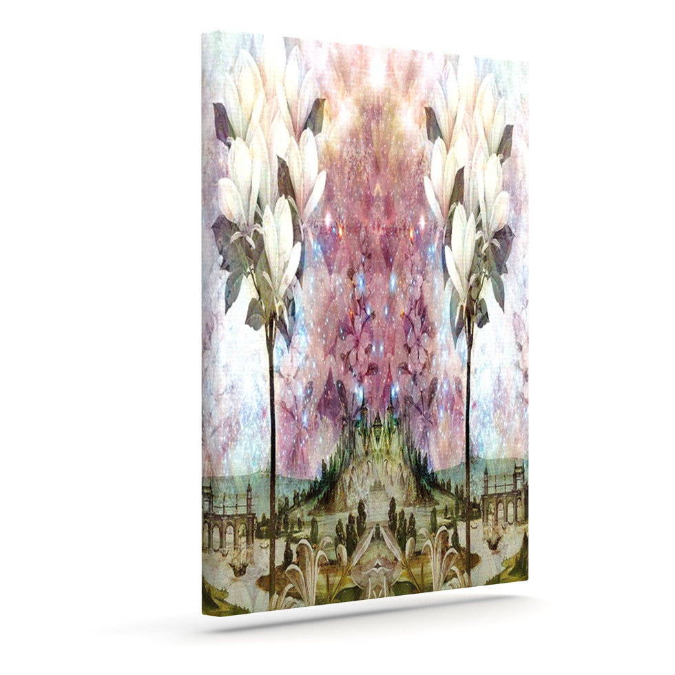 "Suzanne Carter ""The Magnolia Trees"" Outdoor Canvas Wall Art - KESS InHouse  - 1"