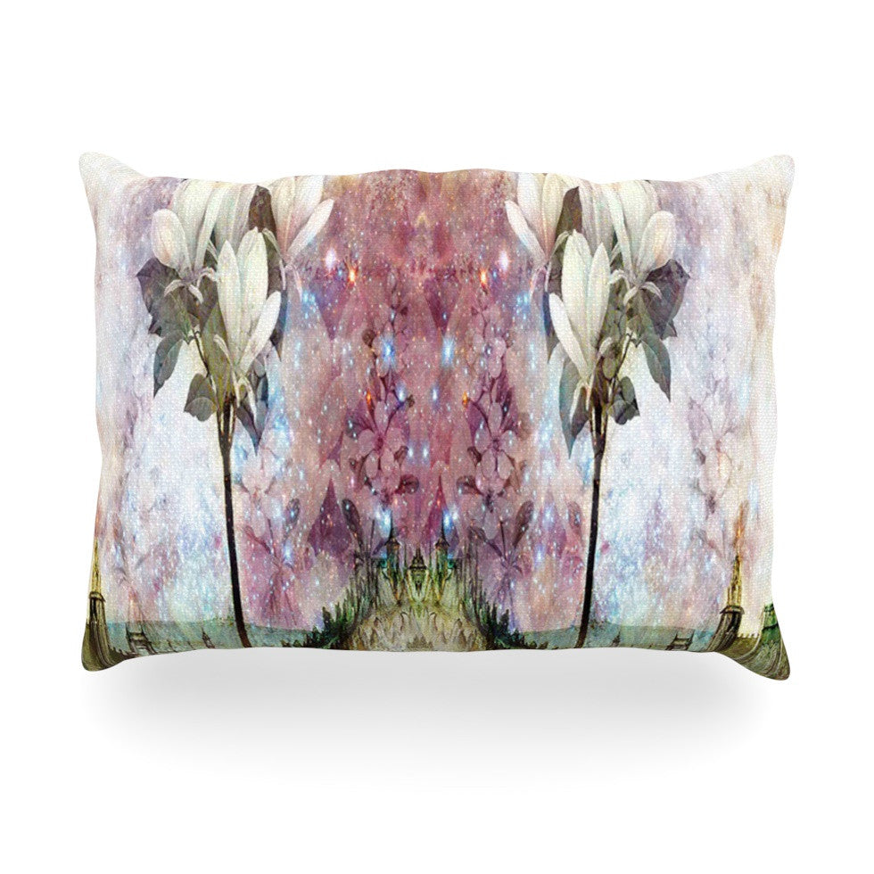 "Suzanne Carter ""The Magnolia Trees"" Oblong Pillow - KESS InHouse"