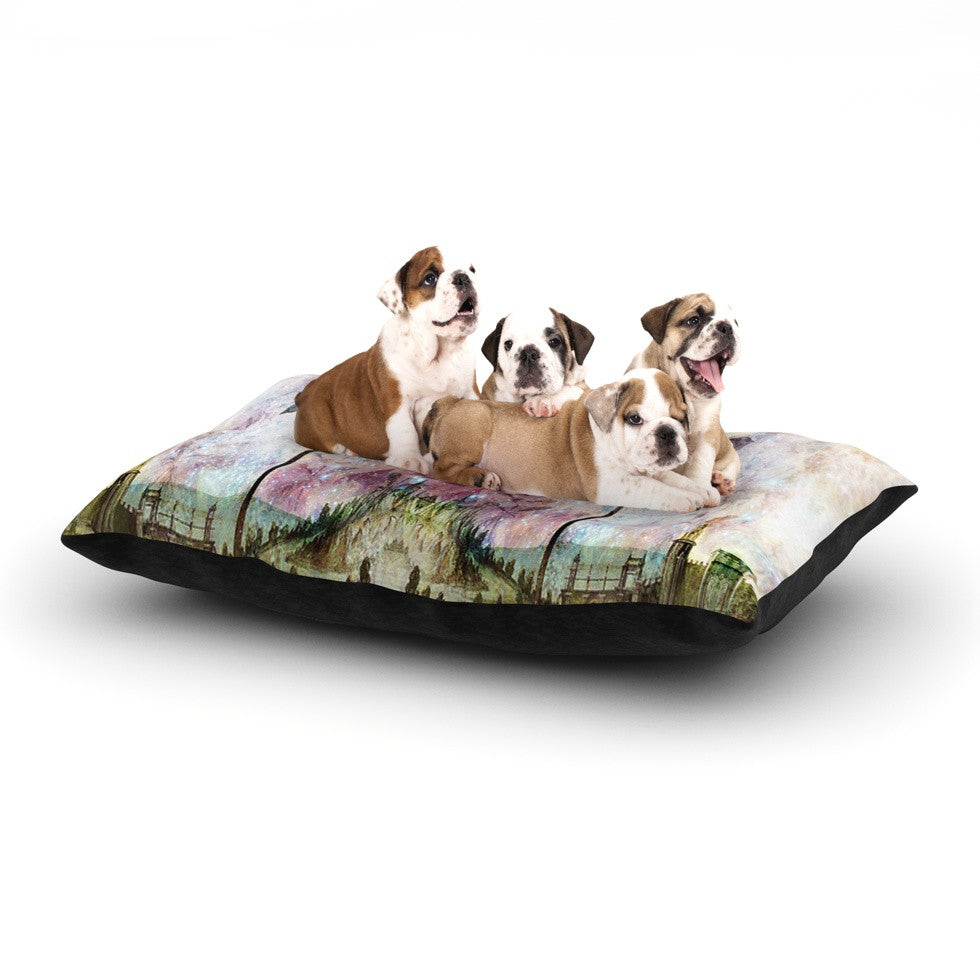 "Suzanne Carter ""The Magnolia Trees"" Dog Bed - KESS InHouse  - 1"