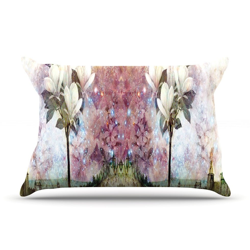 "Suzanne Carter ""The Magnolia Trees"" Pillow Sham - KESS InHouse"