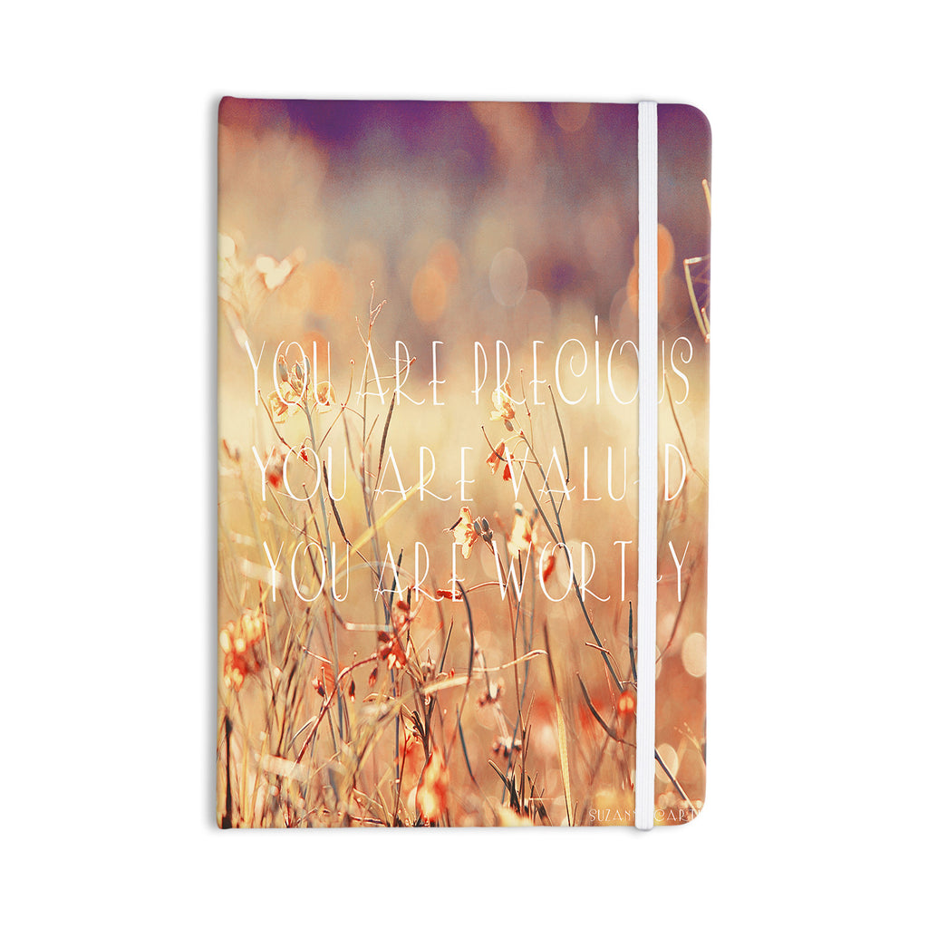 "Suzanne Carter ""You are Precious"" Quote Everything Notebook - KESS InHouse  - 1"