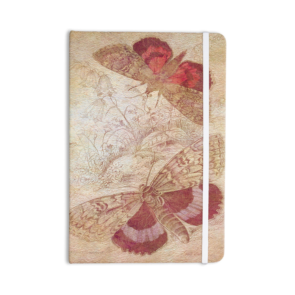 "Suzanne Carter ""Vintage Garden"" Butterfly Moth Everything Notebook - KESS InHouse  - 1"