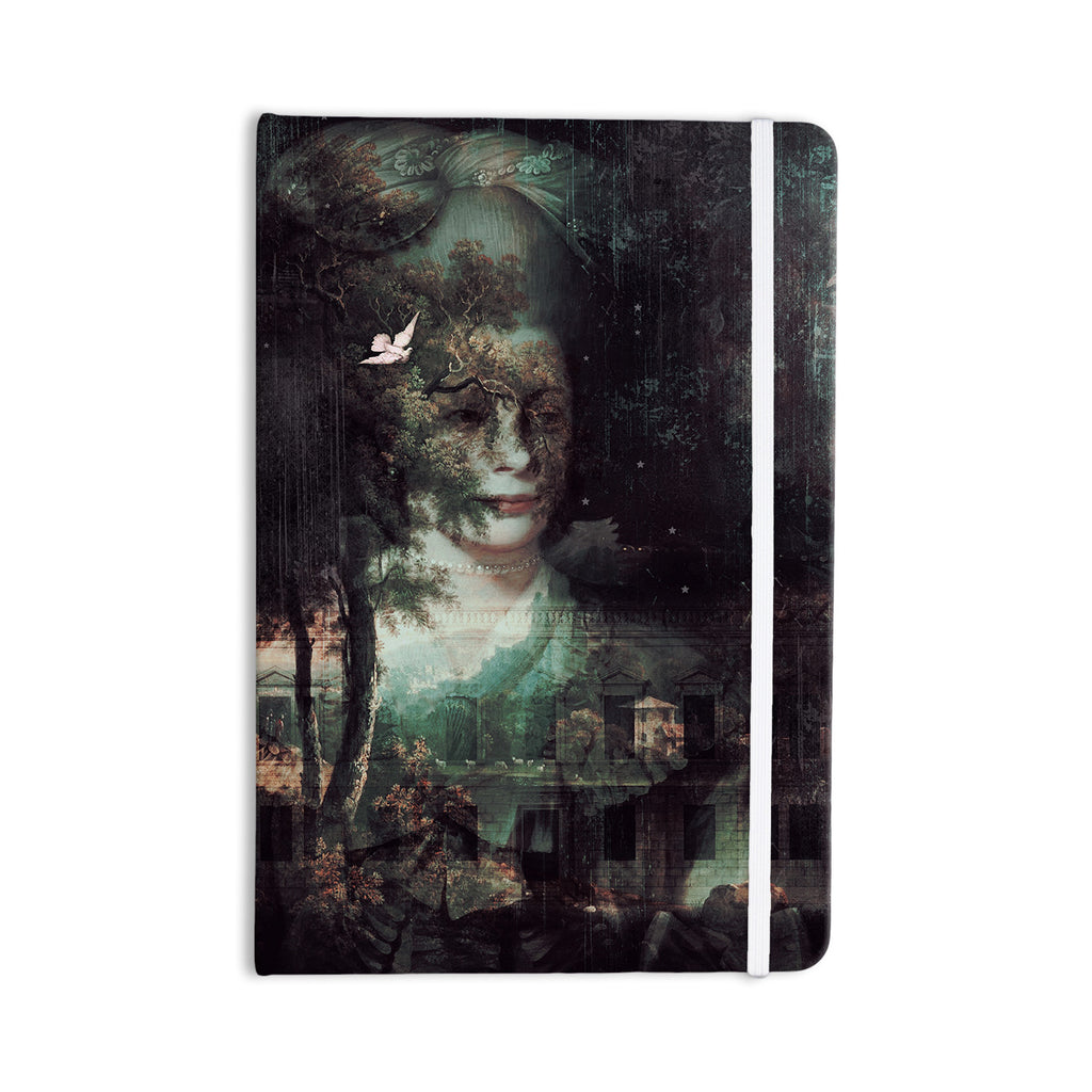 "Suzanne Carter ""Lady Grace"" Dark Everything Notebook - KESS InHouse  - 1"