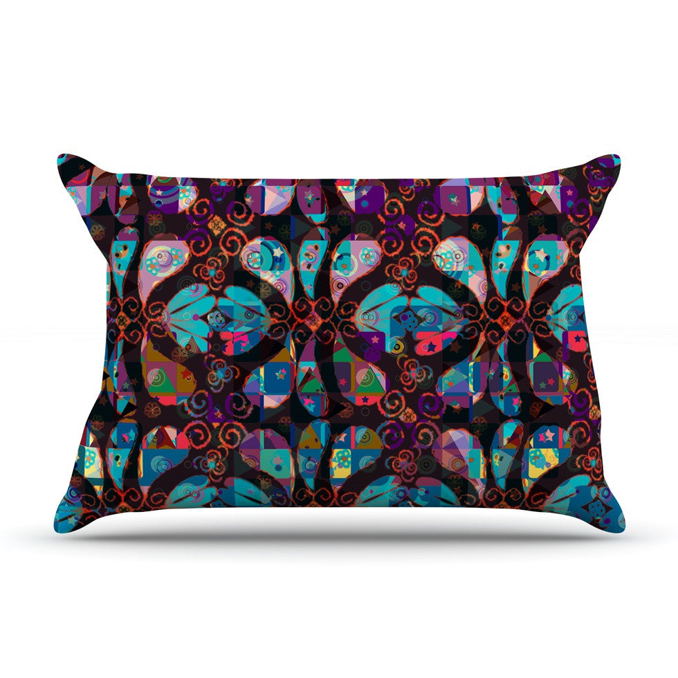 "Suzanne Carter ""Pattern"" Multicolor Abstract Pillow Sham - KESS InHouse"