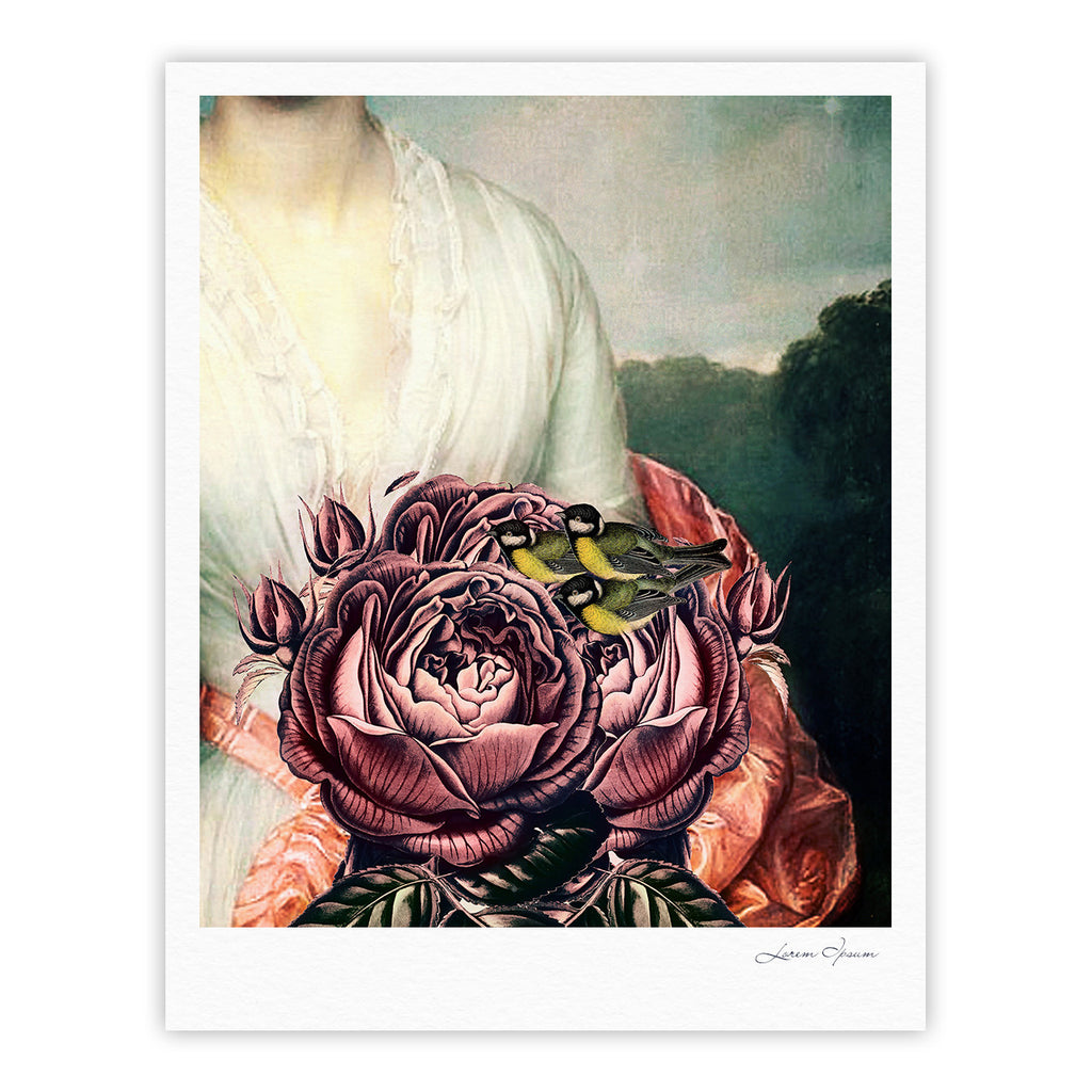 "Suzanne Carter ""The Bouquet"" Fine Art Gallery Print - KESS InHouse"