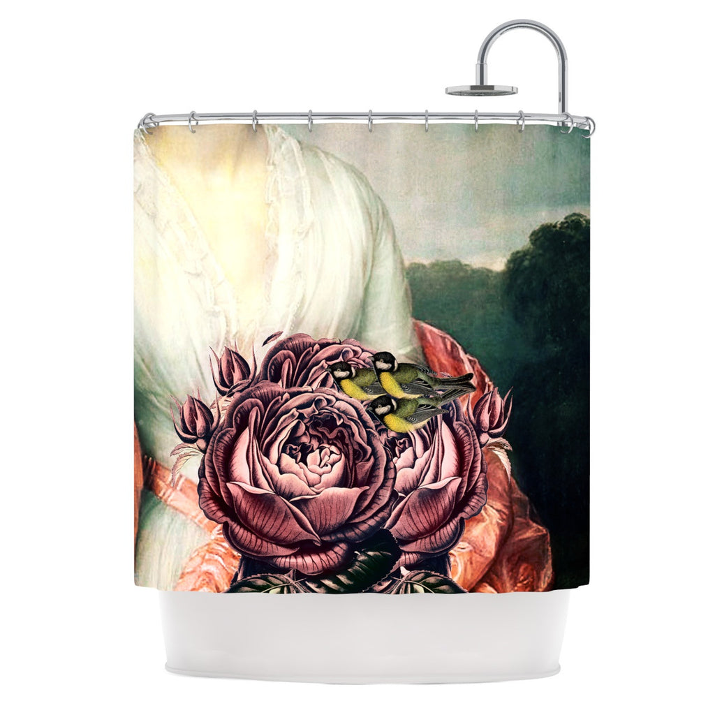 "Suzanne Carter ""The Bouquet"" Shower Curtain - KESS InHouse"