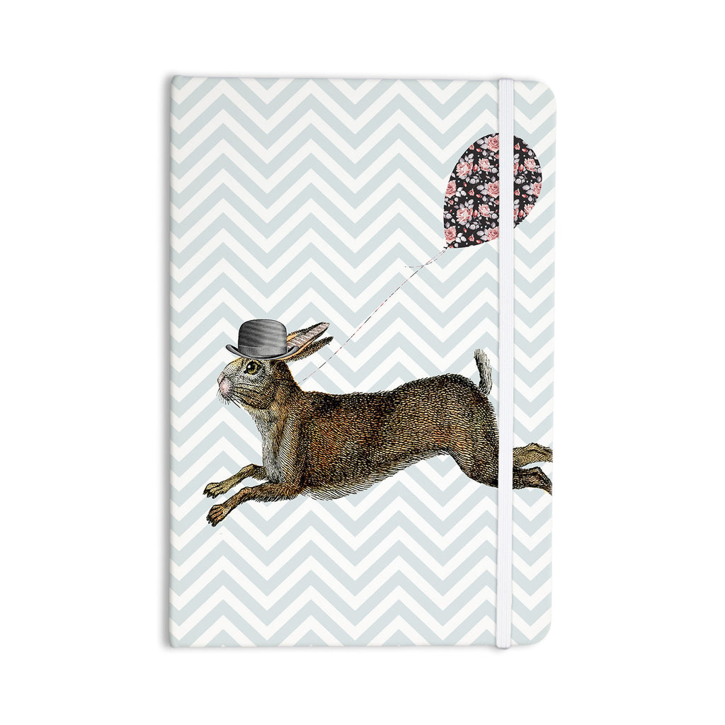 "Suzanne Carter ""Hare Today"" Rabbit Everything Notebook - KESS InHouse  - 1"
