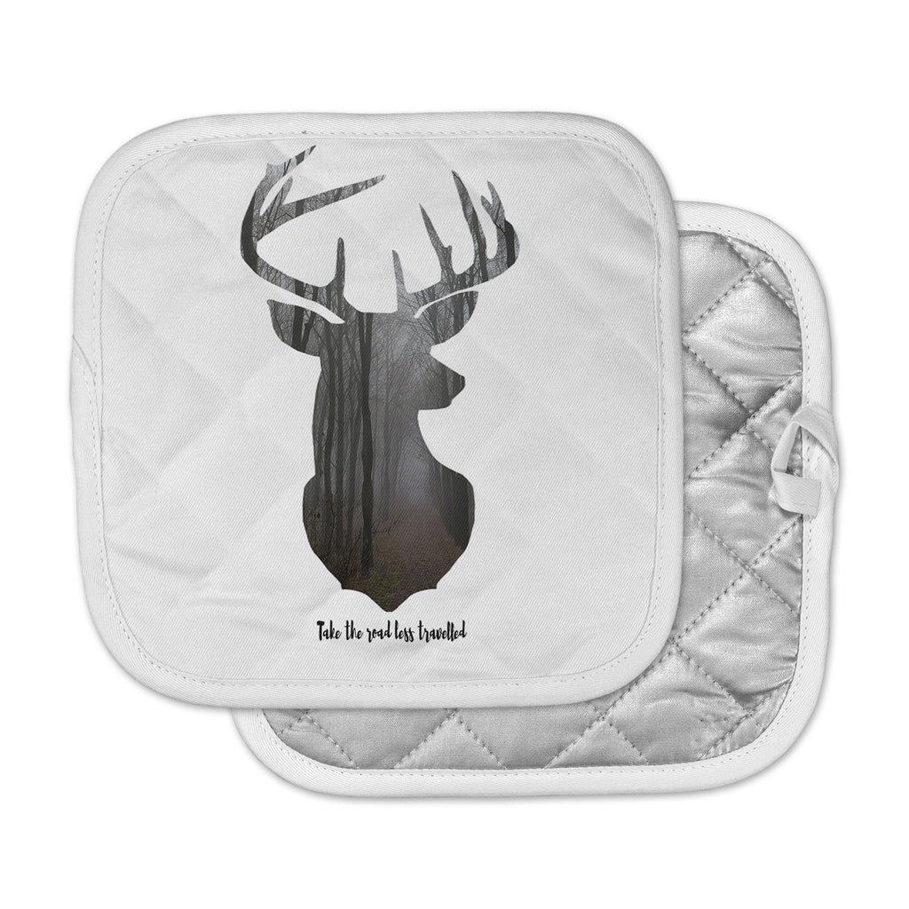 "Suzanne Carter ""The Road2"" Contemporary Nature Pot Holder"