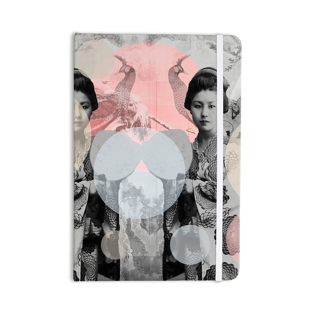 "Suzanne Carter ""Kyoto Girl"" Gray Pastel Everything Notebook - KESS InHouse  - 1"