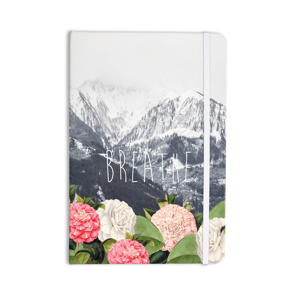 "Suzanne Carter ""Breathe"" Floral Landscape Everything Notebook - KESS InHouse  - 1"