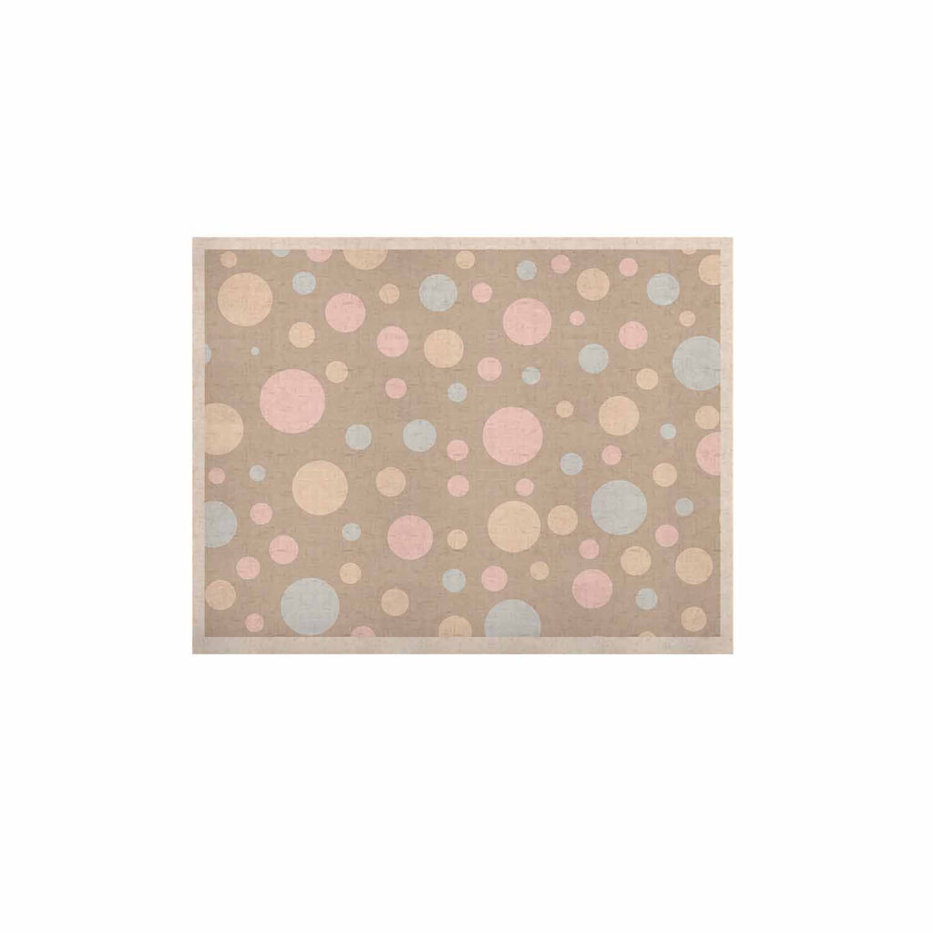"Suzanne Carter ""Lotty"" Pink Blue KESS Naturals Canvas (Frame not Included) - KESS InHouse  - 1"