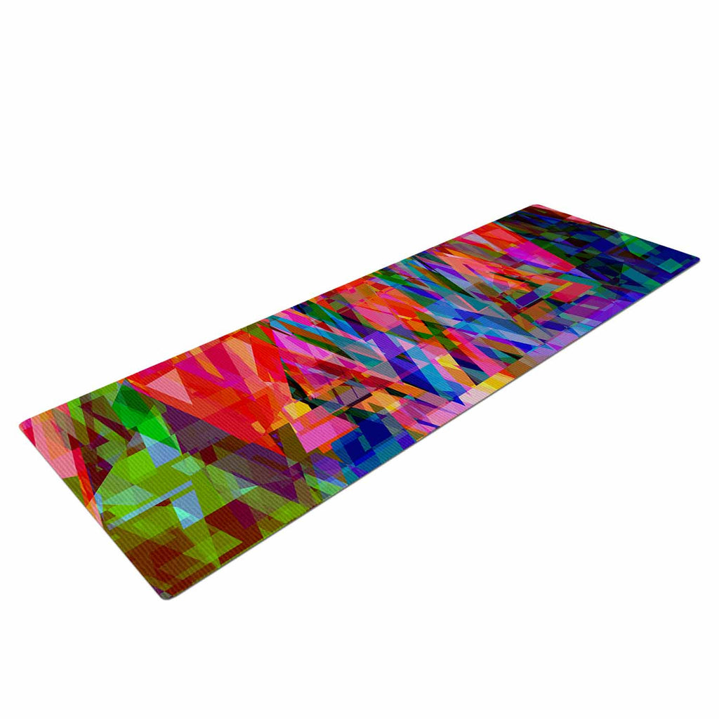Geo-Prism Yoga Mat By Suzanne Carter | KESS InHouse