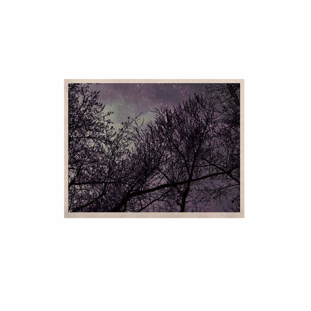 "Sylvia Coomes ""Purple Sky"" Lavender Black KESS Naturals Canvas (Frame not Included) - KESS InHouse  - 1"