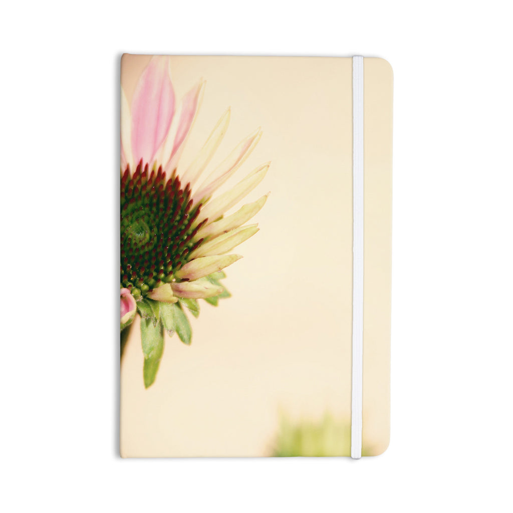"Sylvia Coomes ""Pink And Yellow Flower"" Blush Floral Everything Notebook - KESS InHouse  - 1"