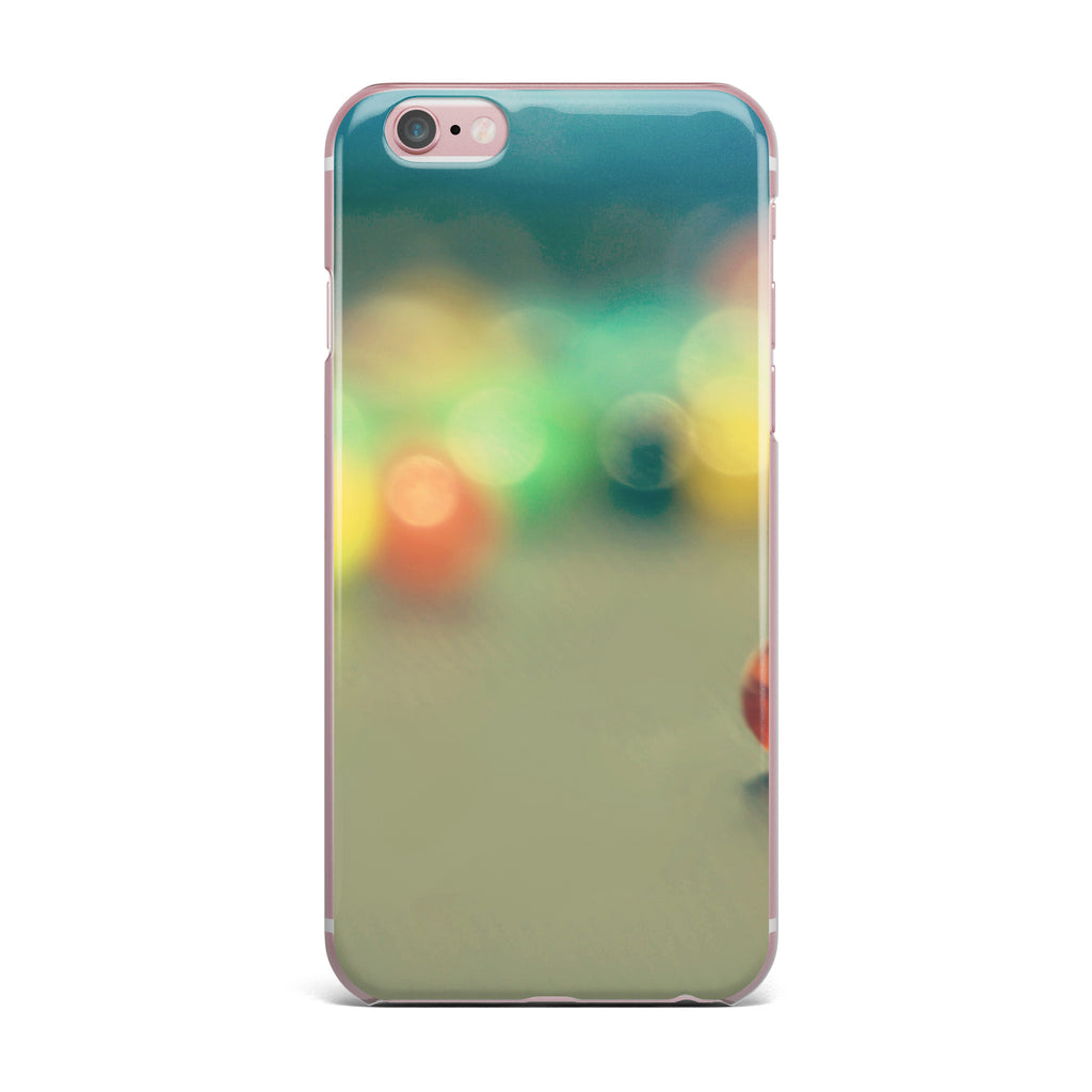 "Sylvia Coomes ""Marble Bokeh"" Multicolor Abstract iPhone Case - KESS InHouse"