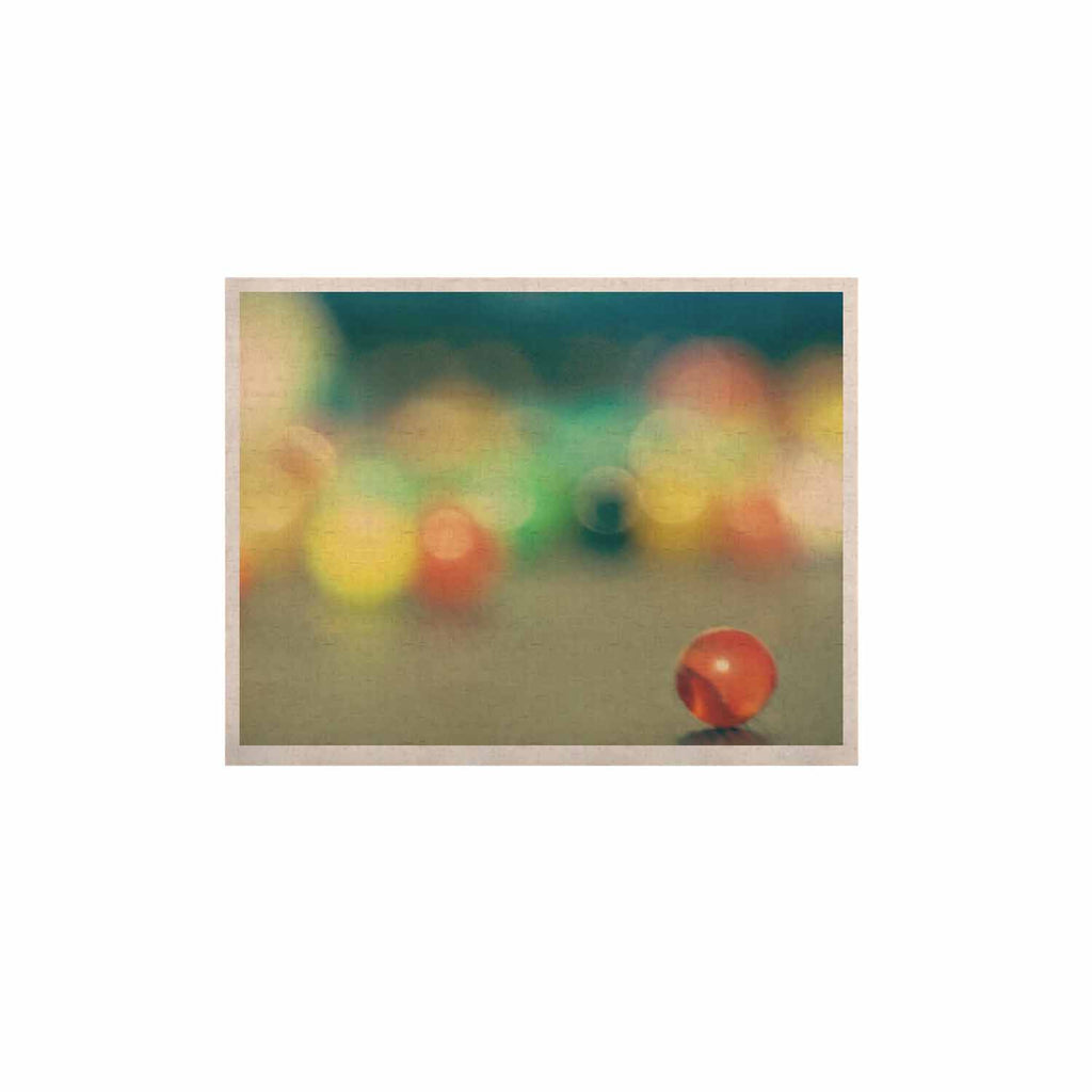 "Sylvia Coomes ""Marble Bokeh"" Multicolor Abstract KESS Naturals Canvas (Frame not Included) - KESS InHouse  - 1"
