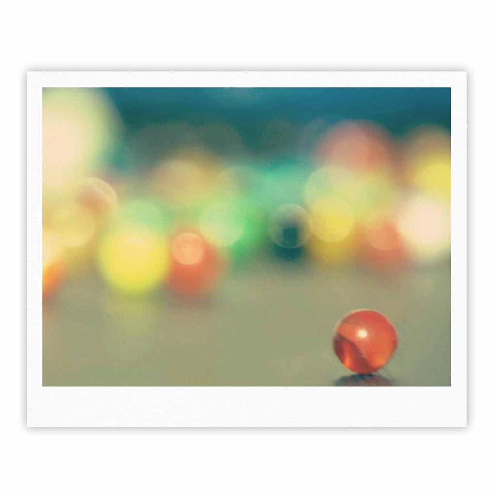 "Sylvia Coomes ""Marble Bokeh"" Multicolor Abstract Fine Art Gallery Print - KESS InHouse"