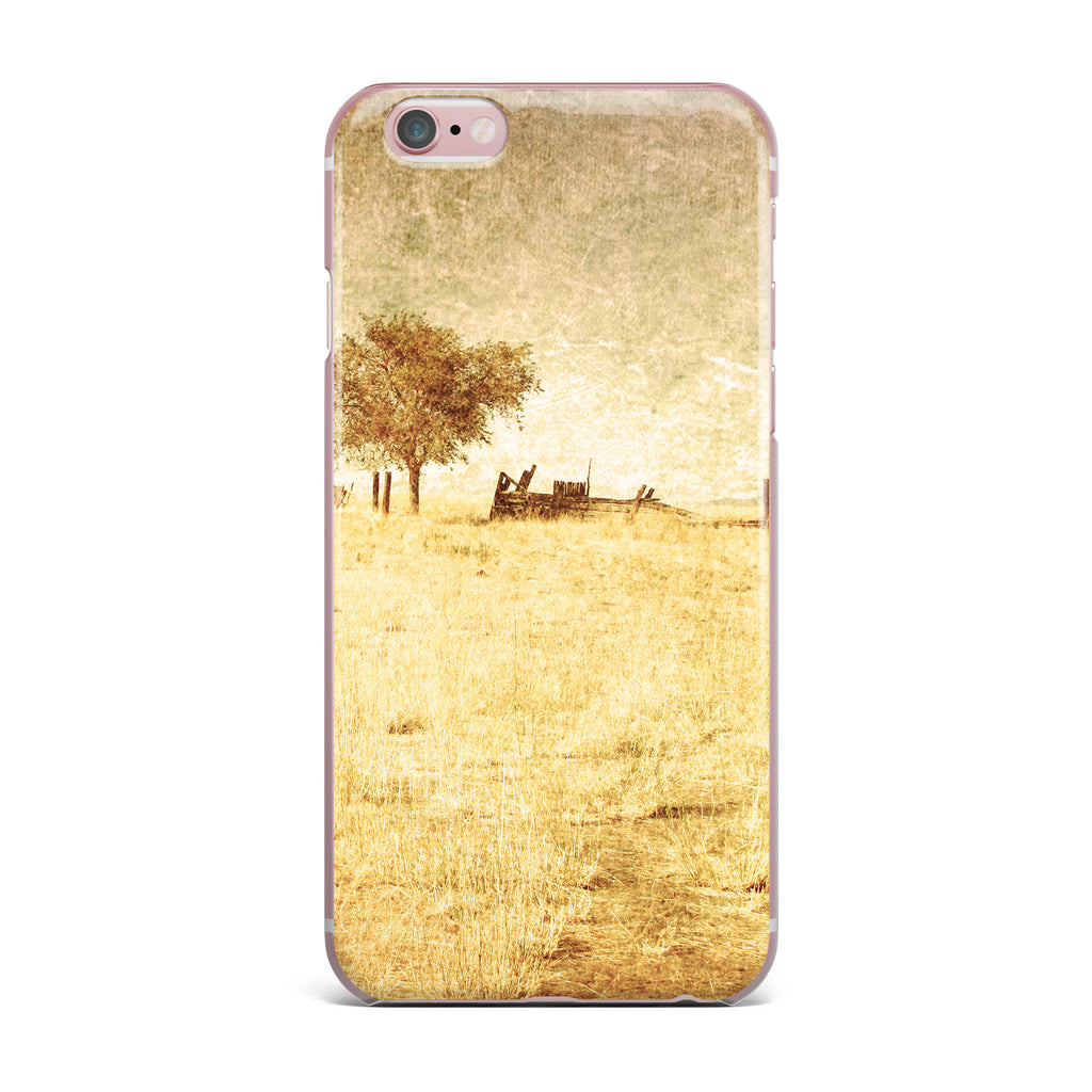 "Sylvia Coomes ""One Tree"" Brown Tan iPhone Case - KESS InHouse"