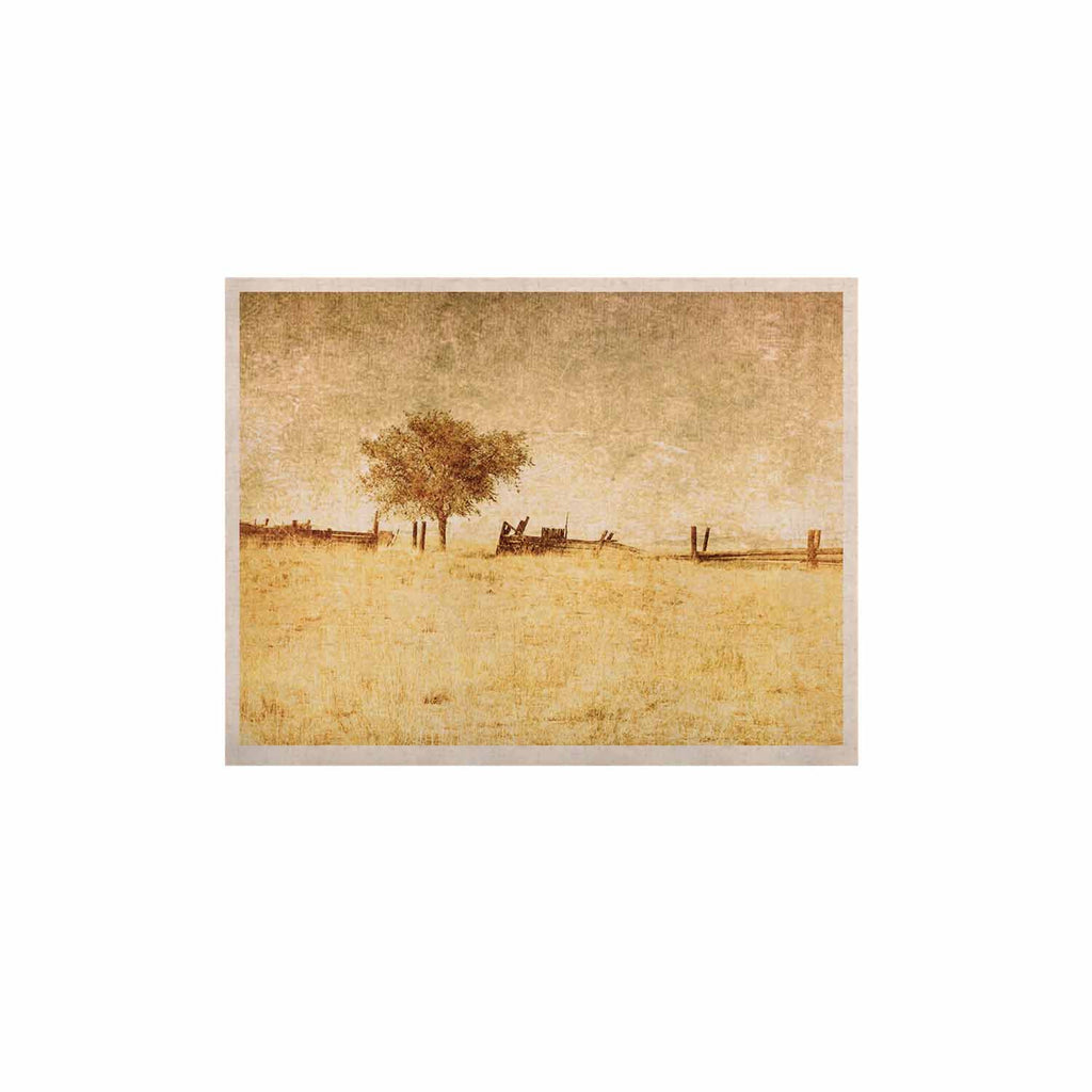 "Sylvia Coomes ""One Tree"" Brown Tan KESS Naturals Canvas (Frame not Included) - KESS InHouse  - 1"