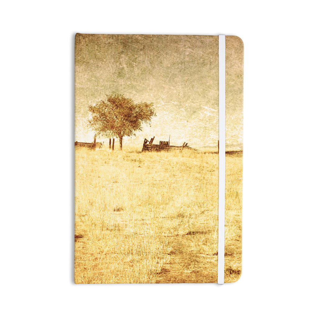"Sylvia Coomes ""One Tree"" Brown Tan Everything Notebook - KESS InHouse  - 1"
