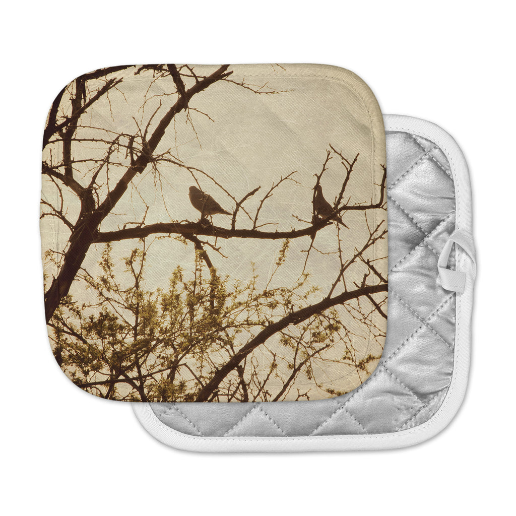 "Sylvia Coomes ""Golden"" Brown Photography Pot Holder"
