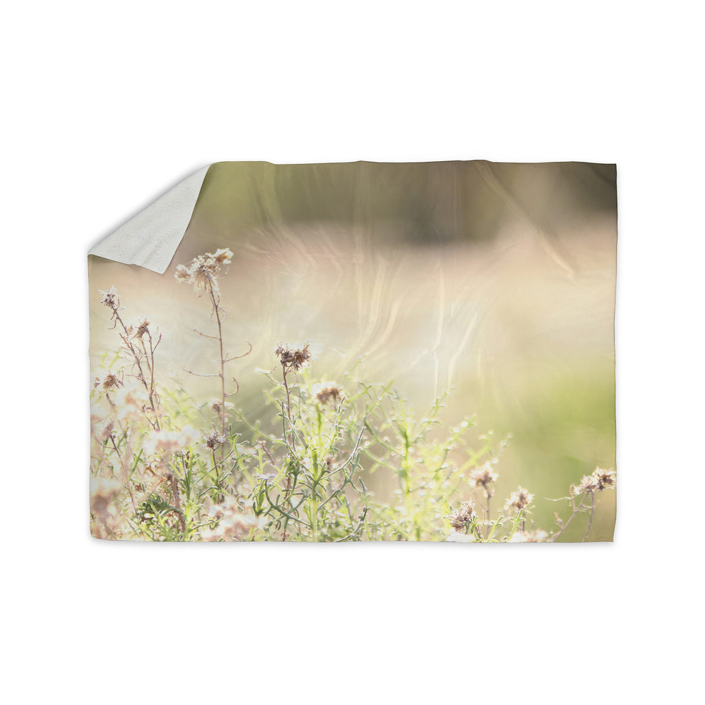 "Sylvia Coomes ""Shimmering Light"" Nature Photography Sherpa Blanket - KESS InHouse  - 1"