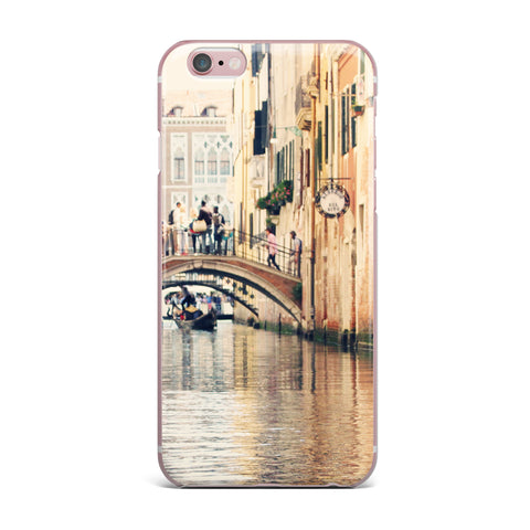 "Sylvia Coomes ""Venice 10"" Beige Brown iPhone Case - KESS InHouse"