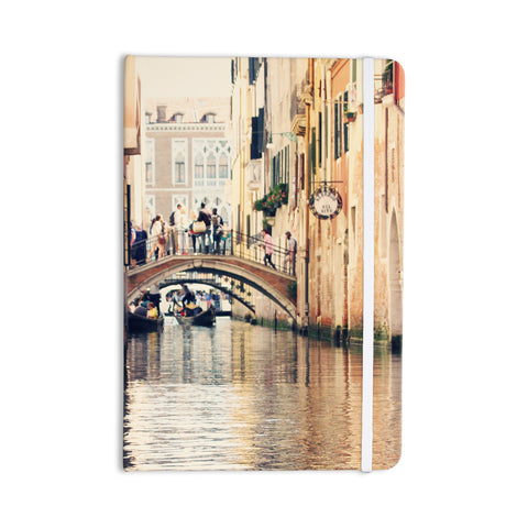 "Sylvia Coomes ""Venice 10"" Beige Brown Everything Notebook - KESS InHouse  - 1"