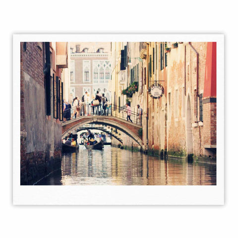 "Sylvia Coomes ""Venice 10"" Beige Brown Fine Art Gallery Print - KESS InHouse"