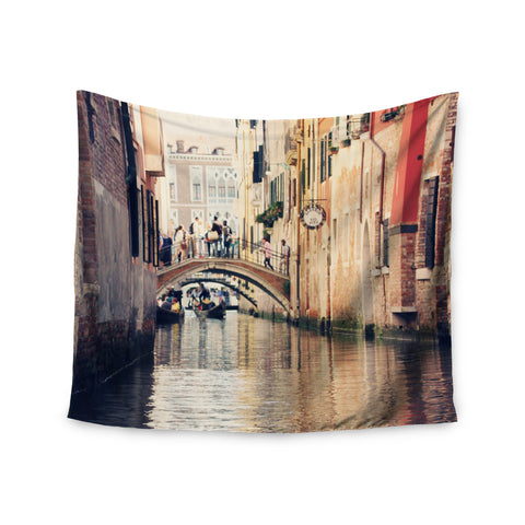 "Sylvia Coomes ""Venice 10"" Beige Brown Wall Tapestry - KESS InHouse"